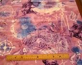 New Dawn Zodiac Sign Pisces premium cotton fabric Fabri-Quilt - astrology