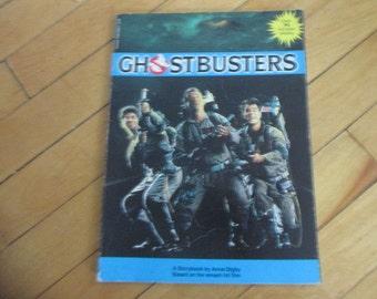 Vintage Paperback Book Ghostbusters Movie Story Book by Anne Digby
