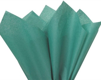 Tissue Paper . Teal    24 Sheets  . DIY Wedding Decor  Gift Wrap . Craft Supplies  DIY Pom Pom Supplies