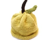 Organic Cotton Baby Hat, Green Little Sprout, Green Apple