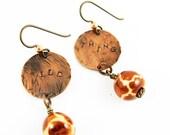 Wild Thing Earrings (Animal Print Giraffe Jewelry for Safari)