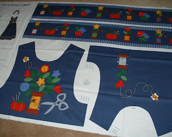 Woman's Jumper Panel Pins & Needles, Bodice Top/Skirt Bands, 4 Sizes, Only 4 Left.