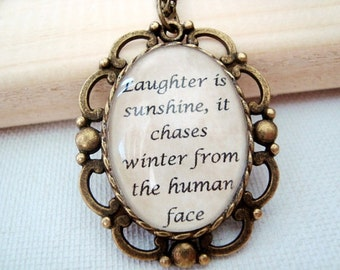 CUSTOM quote necklace, your OWN quote, decorative vintage setting, custom jewelry, custom necklace, quote jewelry