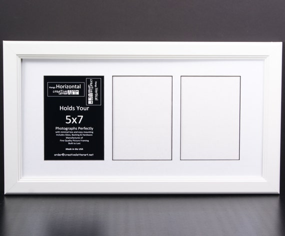 5x7 White Picture Frames W Multi 3 4 5 6 7 Opening Collage