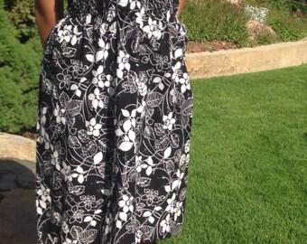 Maxi dress - strapless dress - summer dress - strapless dress- short dress- short summer dress