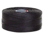 C-Lon Size #D Nylon Beading Thread - Black