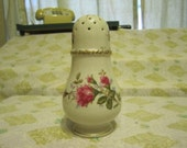 Vintage Sachet Jar Rose and Gold Decoration