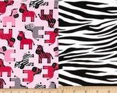 Zebra Drool Pads