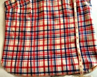 60's Vintage MOD two piece set: skirt and shirt.