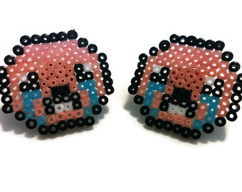 Binding of Isaac Isaac Head Earrings