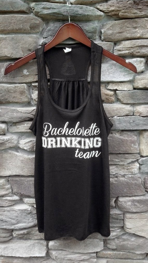 Items similar to bachelorette tank top bachelorette for Waterfall design etsy