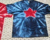 """Tie dye shirt, """"Star Spangled"""", July 4th, Independence day, God bless the USA (Available in all sizes from Small to 6XL), 350"""
