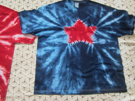 tie dye shirt spangled july 4th independence by