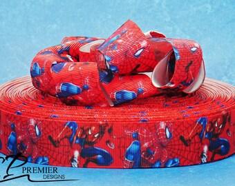 """1"""" Super Hero Grosgrain Ribbon"""