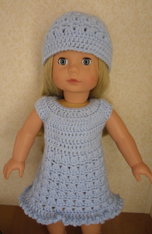 Crochet Pattern Central American Girl : PDF Crochet pattern for 18 inch doll American Girl Doll or