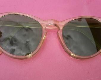 1940s Green Lenses Sunglasses