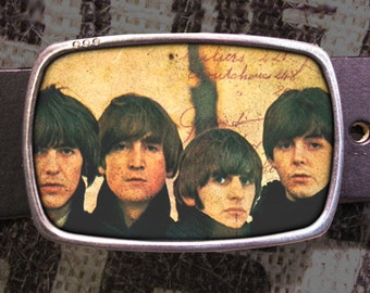 Beatles Belt Buckle, Vintage Inspired 552