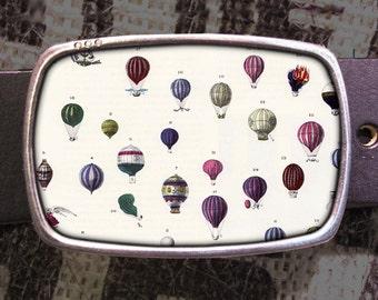 Hot Air Balloonfest Belt Buckle 709