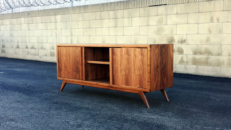 the lemonade a mid century modern tv stand tv by monkehaus. Black Bedroom Furniture Sets. Home Design Ideas