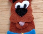 Scooby Doo gang finger puppet pattern