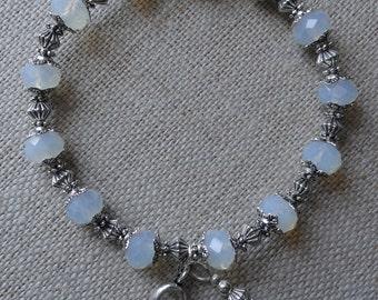 046 Lung Cancer Awareness Bracelet