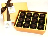 Creek House Organic Non Dairy Vegan Chocolate Truffles Nouveau Collection, Choose from 3 Sizes