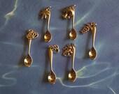 Tiny Charm Boho Spoon