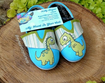 Dino toddler shoes