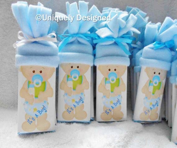 Unique Girl Baby Shower Favors Baby bars-boy or girl ...