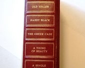 Vintage 1956 Summer Selections Edition of Reader's Digest Condensed Books, Old Yeller, Fred Gipson, Gift for Him, Gift for Her, Christmas