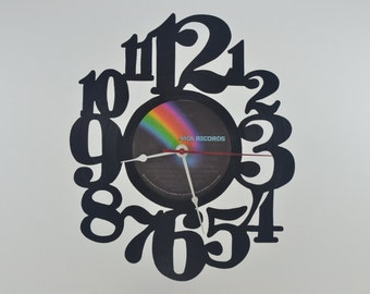 Handmade Vinyl Record Wall Clock Hanging Clock  (artist is Cher)