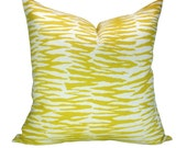 OUTDOOR - Trina Turk Zebra Print pillow cover in Bamboo