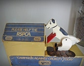 Shop Display Box Vintage, General Store Advertising Display, RSPCA Money Box, Rare Advertisment Display, Vintage Display