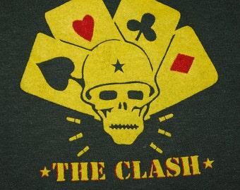 The Clash Combat Rock Tour Shirt 1982 vintage