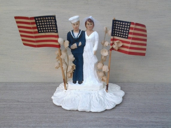 us navy wedding cake toppers vintage wedding cake topper us navy wedding cake 21518