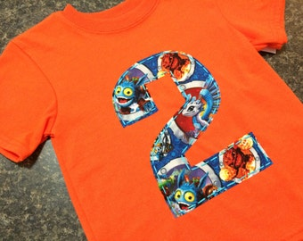 Skylanders 2nd Birthday Shirt