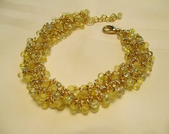 Cha Cha Bracelet in Yellow