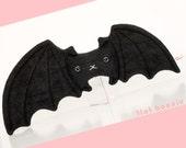Bat stuffed animal, bat plush, kawaii bat stuffy doll, cute bat toy, fruit bat plush toy stuffie, handmade nursery decor, kids gift boy