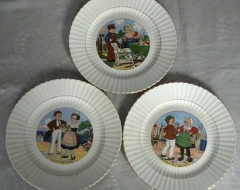 Provinces Of France Plate Series by Digoin & Sarreguemines
