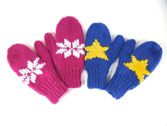 Children's Mittens - Embroidered in any design