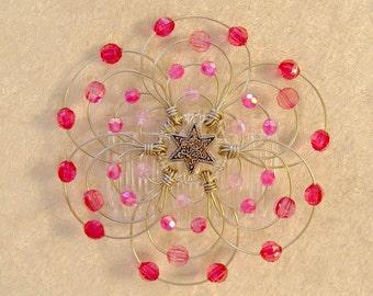 A Desert Kippot design - Shades of Pink