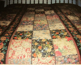 Hand Made King size reversible quilt