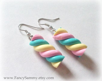 Kawaii Marshmallow Candy Earrings