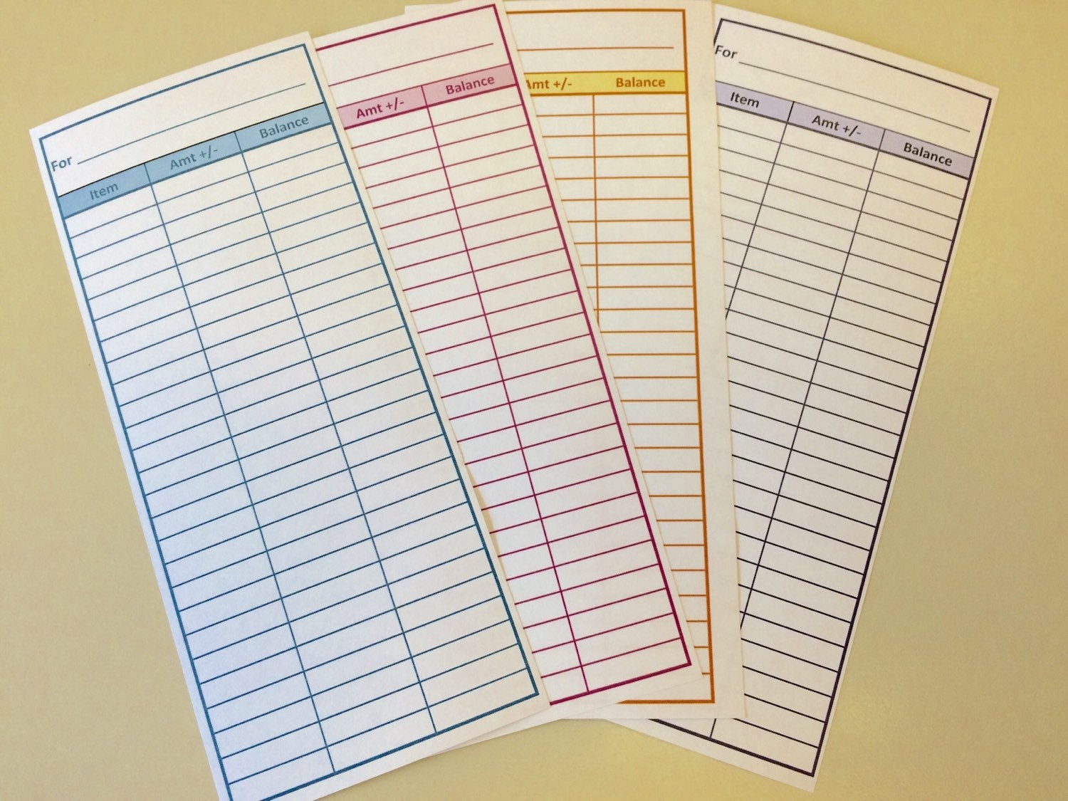 Candid image throughout dave ramsey envelope system printable