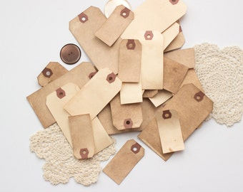 150 Anthropologie Tags. Vintage Wedding. Travel Theme Wedding Boho Escort Card. Place Card. Rustic. Paper Luggage Tag. Name Card.