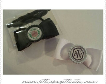 Disney Inspired Tower Of Terror Hair Bow- Hollywood Tower Hotel- Ponytail or hair clip