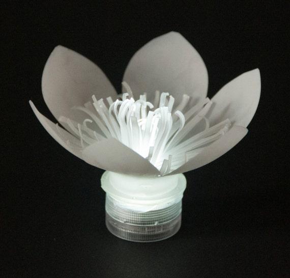 LED Plastic Bottle Flowers