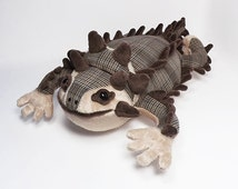 Horned Lizard soft plush toy aka Horny Toad
