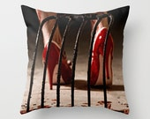 Candy Girl Horror Dark Art Pillow Cover - NikytaGaia Photography