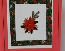 Petal Play Pattern - 3D Fabric Technique -  Poinsettia Flower Quilt Design - Joan Shay Flower Pattern - Quilting Destash - Sewing Supplies